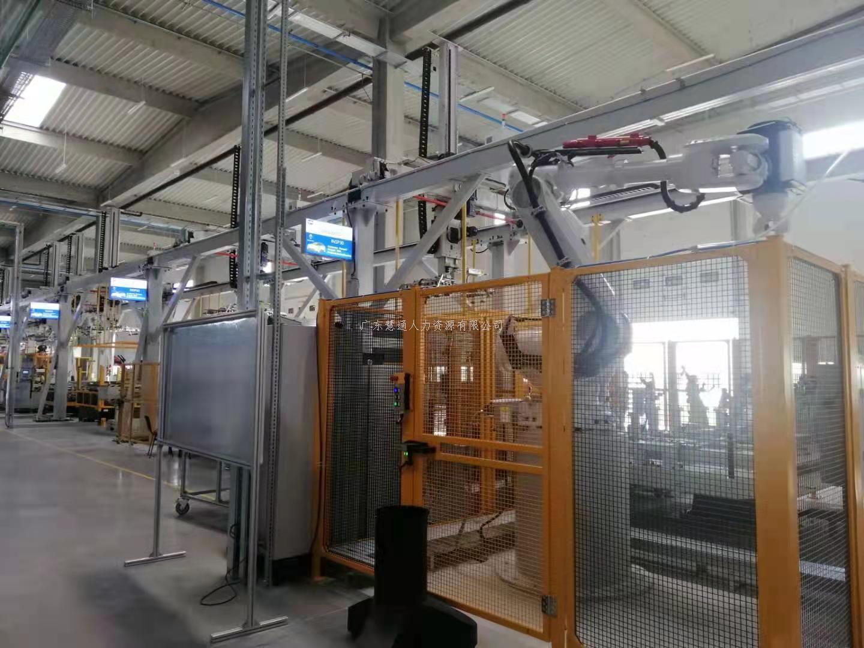 慧通人力首个国际项目,塞尔维亚国宝马奔驰汽车自动化喷涂生产线历经四个月顺利完工。